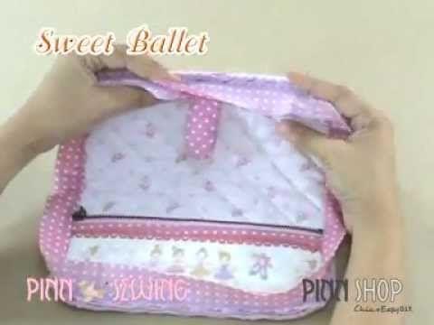 wallet tutorial Sweet Ballet By PINN Shop