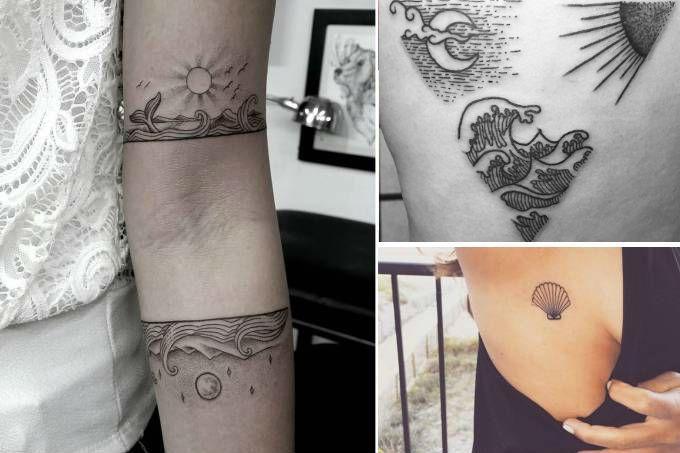 tatuagens de praia