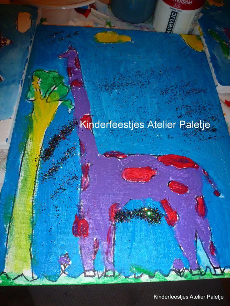 Fantasiedieren schilderen