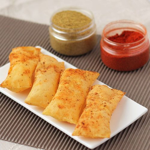 How to make Gujarati Snack Chorafali