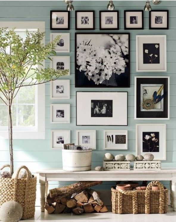 Mix black & white frames