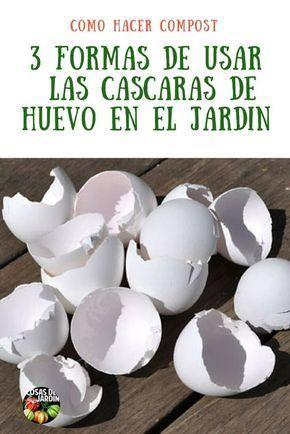 Cáscaras de huevo en el jardín: usando cáscaras de huevo en el suelo, el compost y como control de plagas