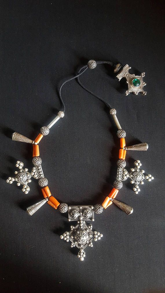 Hey, I found this really awesome Etsy listing at https://www.etsy.com/listing/549061899/morocco-berber-design-necklace-with