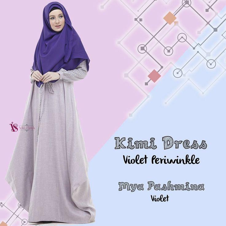 Gamis House Of Valisha Kimi Dress Violet Periwinkle - baju gamis wanita busana muslim Untukmu yg cantik syari dan trendy . . Detail ukuran: XS: LD 90 PB 135 S: LD 94 PB 137 M: LD 100 PB 140 L: LD 104 PB 142 XL: LD 108 PB 145 . . - Keliling rok 25 m - Banyaknya penggunaan bahan untuk 1 dress: 36 m - Bahan: Platinum Linen Look mix Kain Cindy Motif Nyaman dipakai seharian Bahan linen look yang digunakan adalah linen kualitas no.1 bahannya SUPER ADEM dan nyaman dipakai seharian.. . Bentuk gamis…
