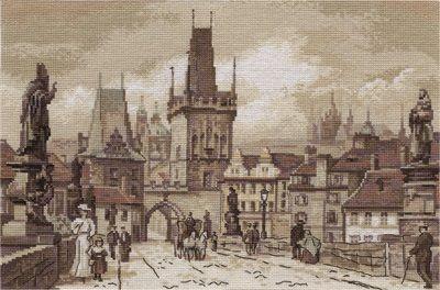 Panna ГМ-1513 Золотая серия «Прага. Карлов мост»