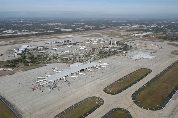 The Tampa International Airport has four active airside terminals.http://www.airport-technology.com/projects/tampa-international-airport/