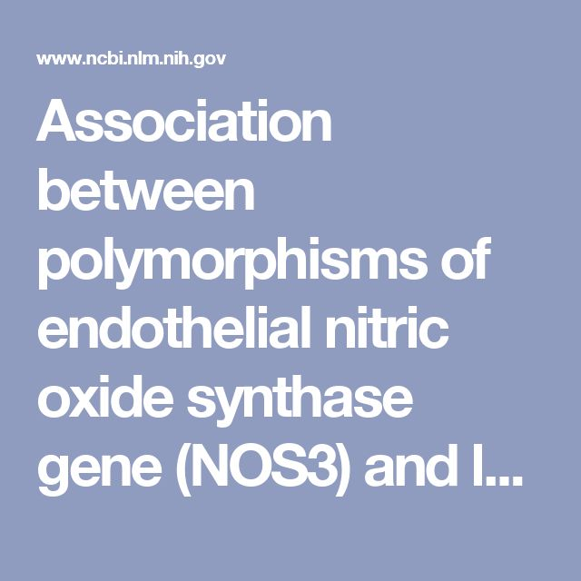 2008 - Association between polymorphisms of endothelial nitric oxide synthase gene (NOS3) and left posterior wall thickness (LPWT) of the heart in Fabry dis... - PubMed - NCBI