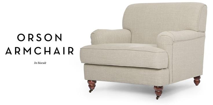 orson chair from made.com | Armchair, Chair, Cozy arm chair