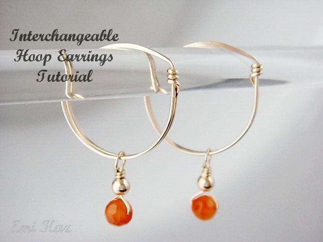16 best Interchangeable earrings images on Pinterest   Hoop ...