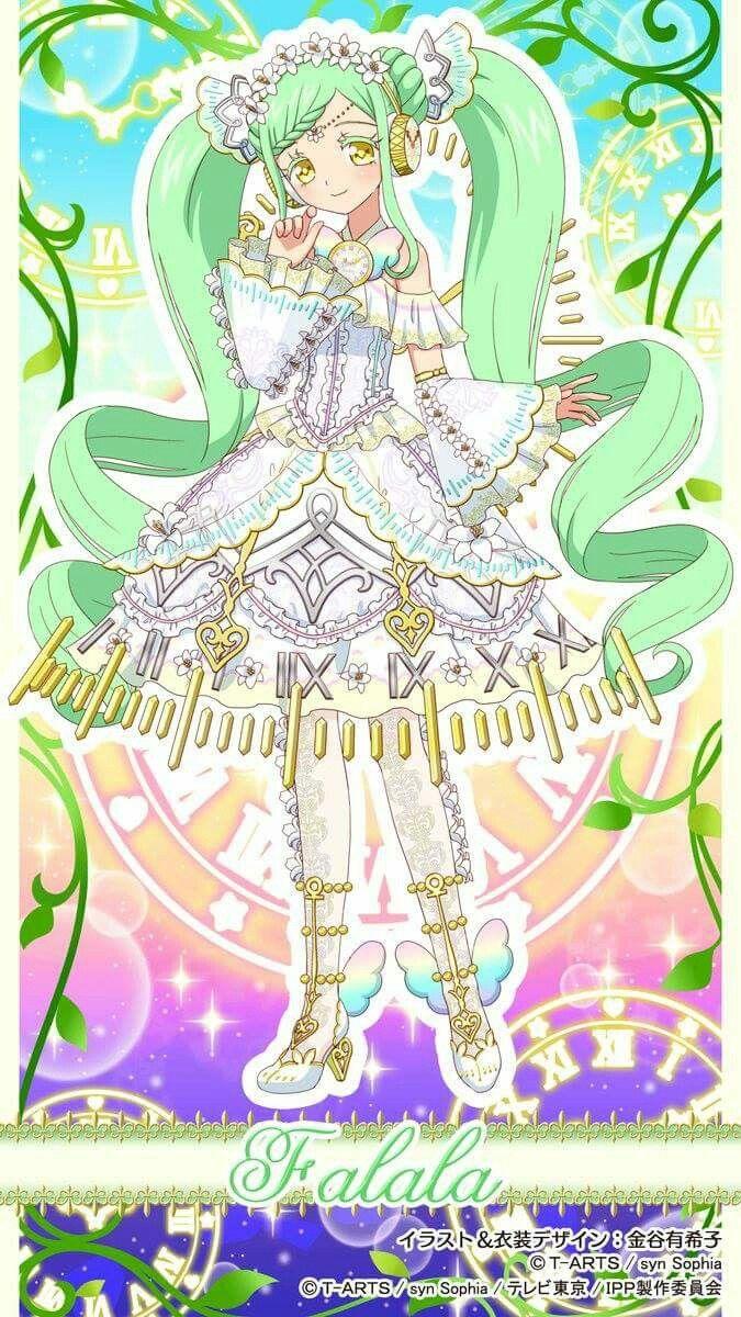 Falala キャラクターデザイン プリパラ セーラームーン 壁紙