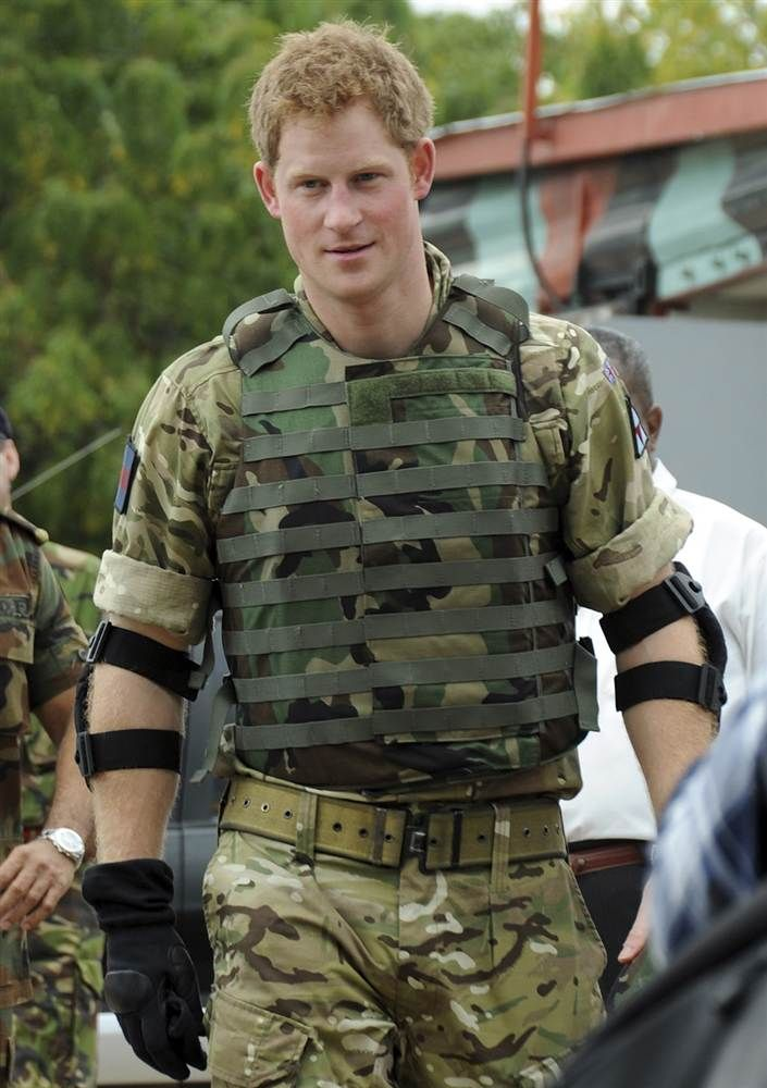 Prince Harry took target shooting practice at Jamaica Defense Force's Up Park Camp in Kingston, Jamaica, on March 7, 2012. He was touring the Caribbean as part of a tour in honor of Queen Elizabeth II as she celebrates 60 years on the throne.