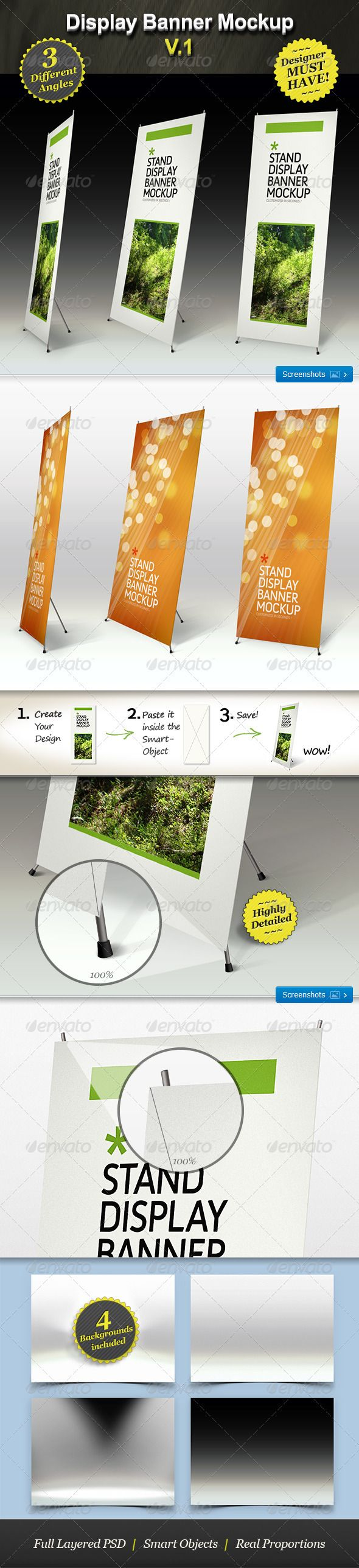 17 meilleures images propos de roll up design sur for Exemple de stand