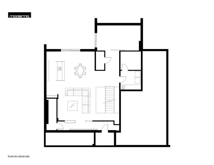 Résidence Nguyen / Atelier Moderno | | #houseplan