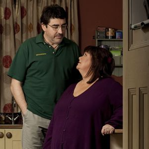 Alfred Molina and Dawn French