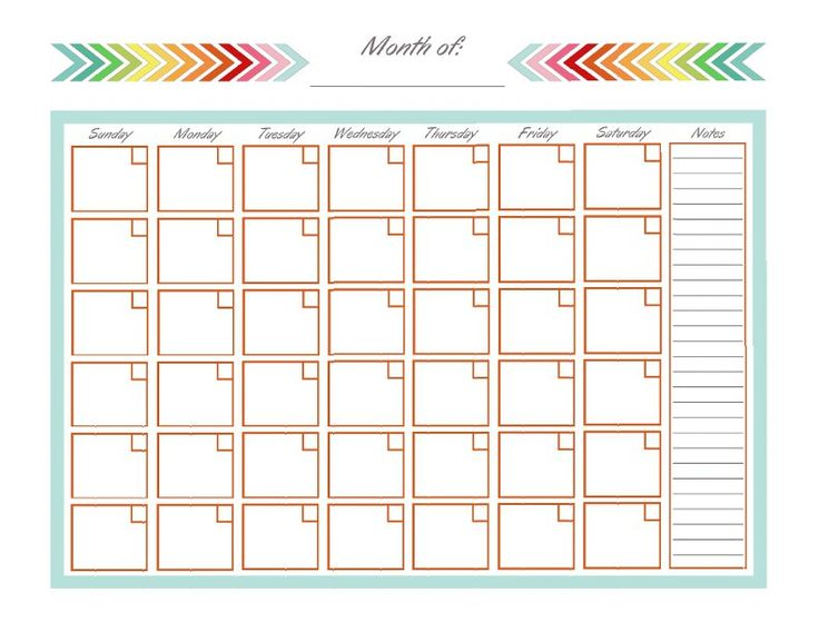 Best 25+ Calender Template Ideas On Pinterest | Monthly Calendar
