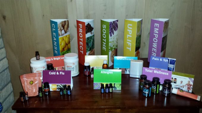 Doterra Display Table Google Search Oils Pinterest