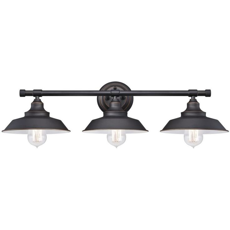 Iron Hill 3 Light Wall Fixture