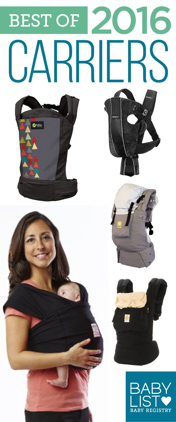 Need some advice to help you pick the best baby carrier? Here are the 5 best carriers of 2016 - based on our own research + input from thousands of parents. There is no one must-have baby carrier. Every family is different. Use this guide to help you figure out the best carrier for your needs and priorities.