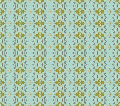 Mermaid's Wallpaper fabric by susaninparis on Spoonflower - custom fabric