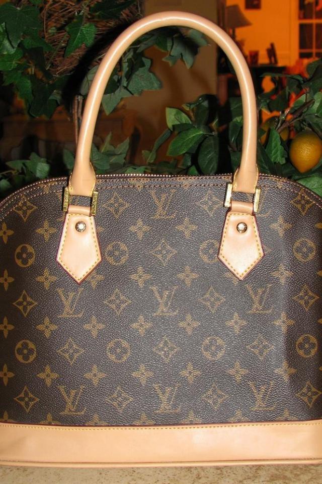 be3a4bb86f46  95 - ♥♥♥ LV BAG ♥♥♥ Large Lv Brown Tan LV Bag