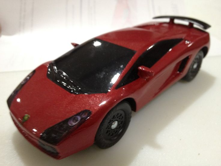 lamborghini gallardo pinewood derby car - Pinewood Derby Car Design Ideas