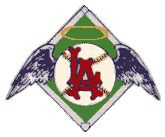 1963–1964. An early logo used by the Los Angeles Angels.