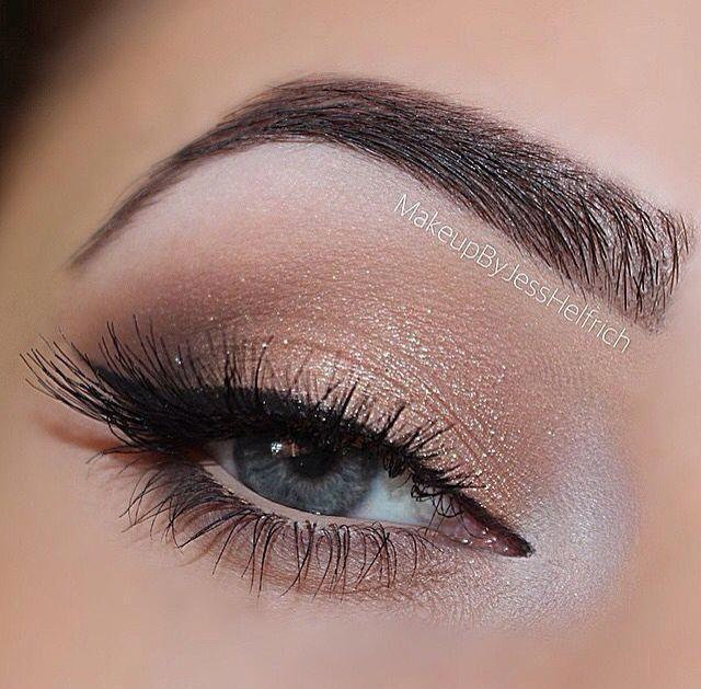 Zu natürliche Augen #hazeleyemakeup #Eyes #Faced #hazeleyemakeup #natural