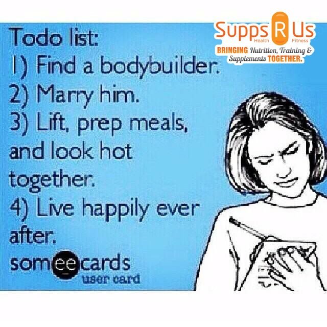 Fit girls to do list...haha not serious just funny