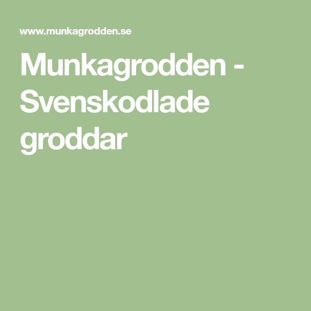 Munkagrodden - Svenskodlade groddar