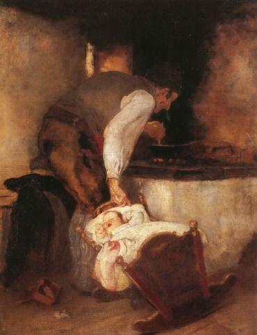 .:. Γύζης Νικόλαος – Gyzis Nikolaos [1842-1901] Παππούς και εγγονός 1