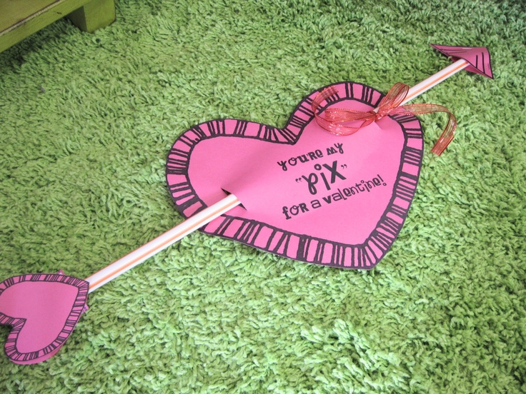 Pixie Stix Valentines