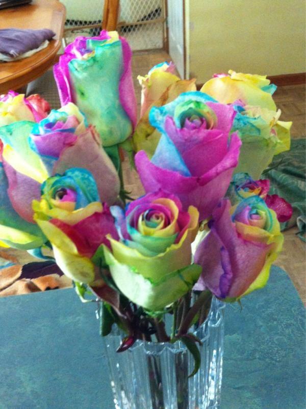 16 best tye dye flowers images on Pinterest   Dye flowers, Beautiful ...