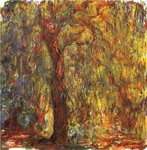 Claude Monet, Weeping Willow, 1919