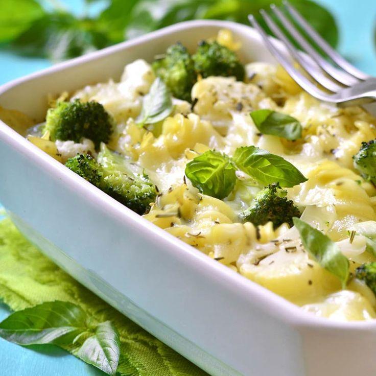 Gratin de pâtes au brocoli
