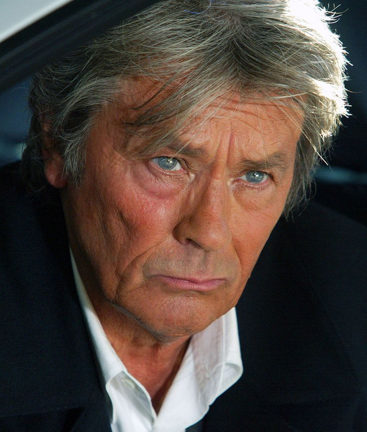 """Alain Delon, """"I keep saying my life is behind me.I'm accused of living in the past and I admit it."""" What a past!!"""