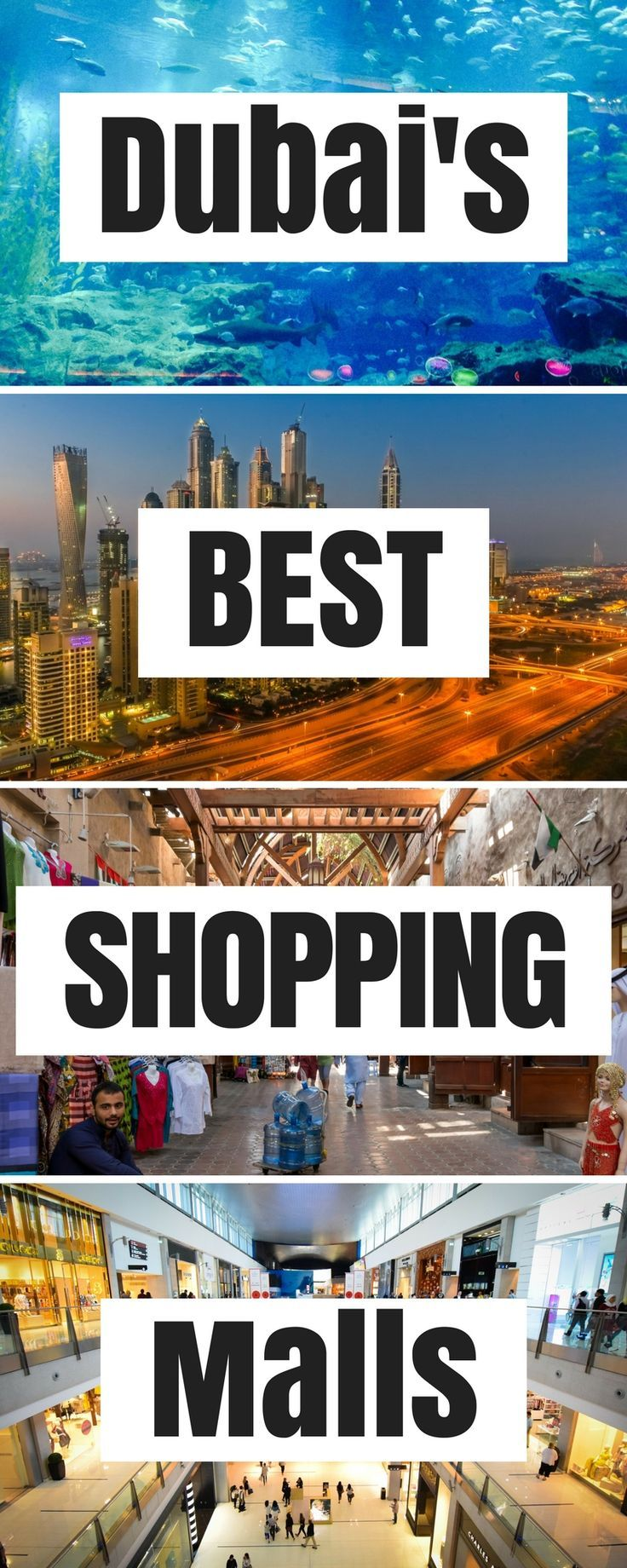 An insider guide to Dubai's best shopping malls! Dubai Mall, Mall of the Emirates, Mercato, Ibn Battuta Mall, Wafi City, Burjuman and many more. All you need to know about shopping in the United Arab Emirates