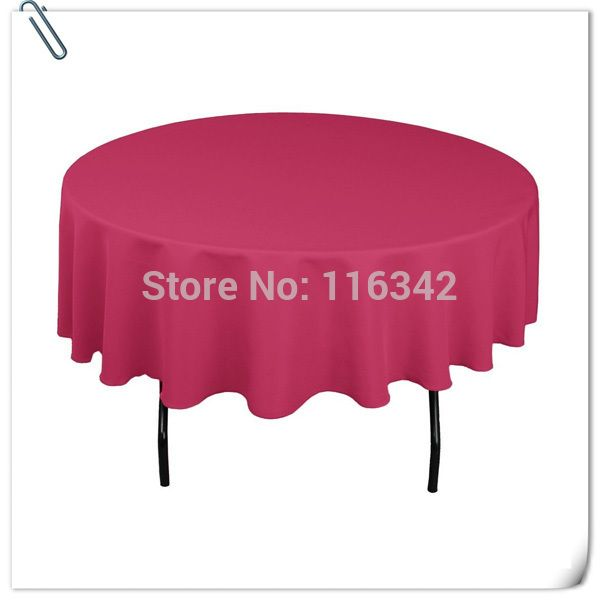 """Cheap cloth store, Buy Quality table centerpiece directly from China table cloth transparent Suppliers: Hot Sale ! Hot Sale !!! 100% polyester 70"""" Round Rose Tablecloth Wedding Party Banquet Table Decoration"""