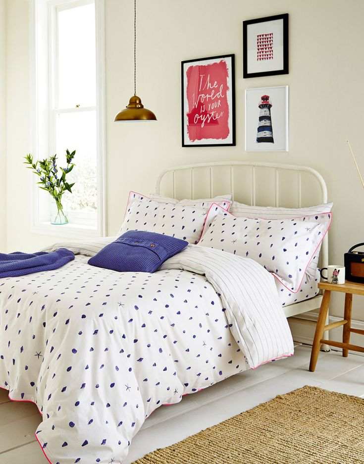 A Spring bedroom refresh with Joules