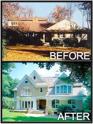 remodeling before and after photos | ... before and after) a great architect makes when designing a renovation