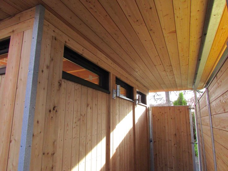Private Care Home Extension, Luxury Modular Timber Construction Sun Shading Roof Overhang