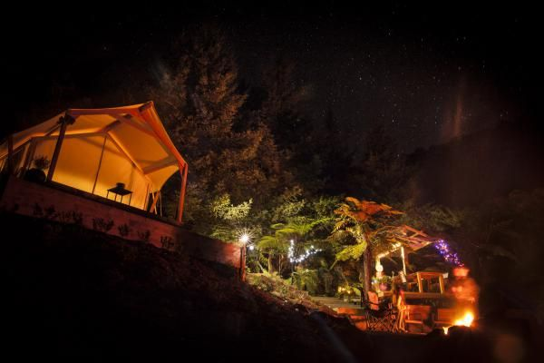 Phoenix Valley, Tauranga » Canopy Camping