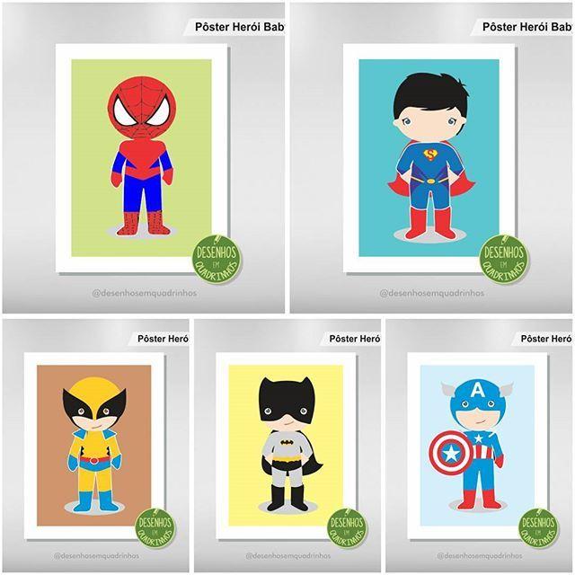 🚼 Pôster Herói Kids • Ideal para quarto de criança. Personalizamos! Temos diversos personagens 🚻 Consulte-nos! ⭐⭐⭐  .   Impressão em alta . Peça o seu!  .  Veja outros pôsteres em nossa galeria.  .  .  .  .  #wolverine #logan #festa #superhomem #cinema #filme #domingo #boanoite #pôster #superherois #poster #superman #xmen #heroi #herói #homemaranha #mamãe #crianças #bebê #filho #casa #quadro #parede #xman #desenho #quadrinho #ilustração #papai #pai #mãe