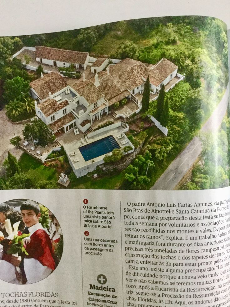 Featured in Sabado, one of the largets weeklies in Portugal #boutiquehotel #bedandbreakfast #b&b #algarve #portugal