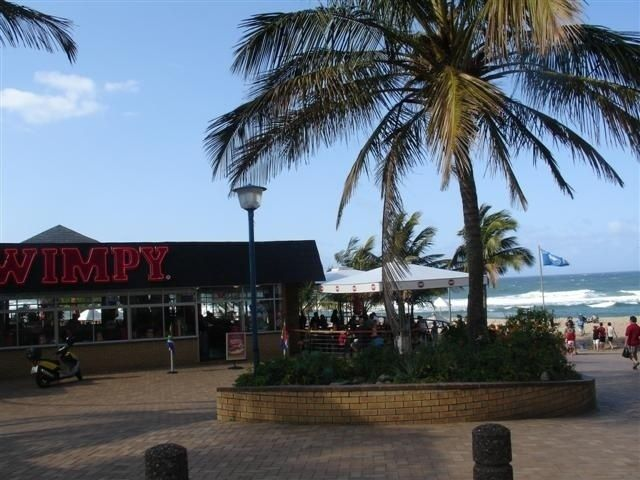 Margate front - Durban