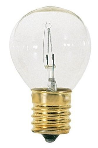 Satco S3729 - 40 watt S11N Incandescent Bulb, Clear, Intermediate Base