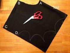 kit to make kids bat costume | Bat Wings Costume to Make | Ziggity Zoom