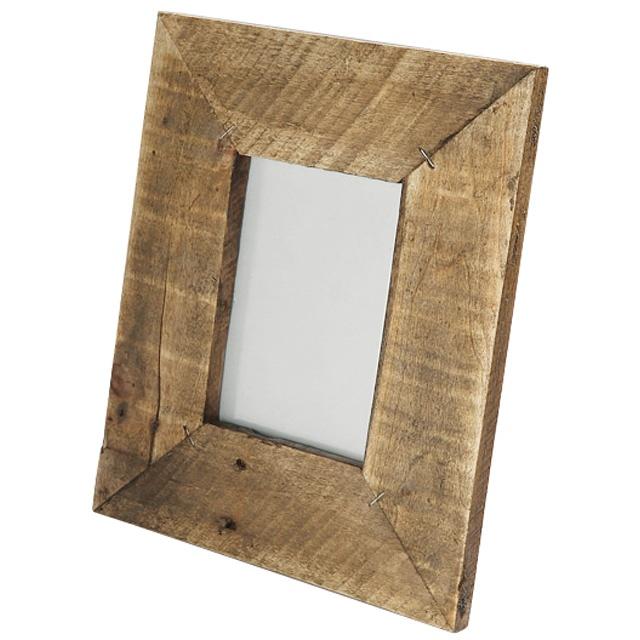 cadre rekup coloris bois castorama projet couloir pallets crates etc unique furniture. Black Bedroom Furniture Sets. Home Design Ideas