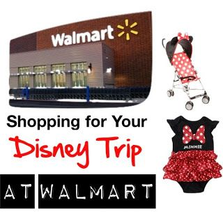 This girl has some great ideas for shopping at walmart for your disney trip! #Disney #walmart
