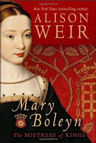 'Mary Boleyn: The Mistress of Kings'by Alison Weir is the only comprehensive biography of Anne Boleyn's sister Mary, who was first the mistress of King Francis and later Henry VIII. Weir presents exciting new evidence on Mary's time abroad, her relationship with her sister and her father, the paternity of her children, her marriages, and her children's friendships with Queen Elizabeth I.  An important read for anyone who loves Tudor history, Anne Boleyn, royal mistresses, and Queen Elizabeth…