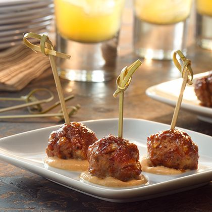 Barbecued Mini Meatballs Lea & Perrins ®